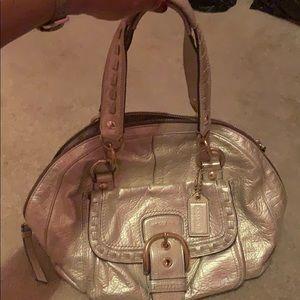 Medium sized Coach purse